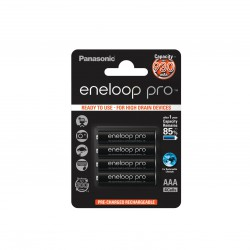 4 AAA Eneloop pro - 930mAh